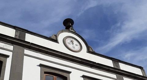Marcando horas y agua: reloj Santa Brígida Gran Canaria