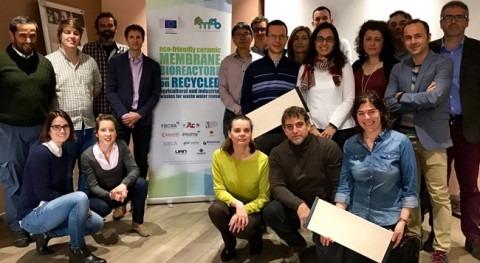 biorreactor membranas sostenible REMEB ultima puesta marcha España