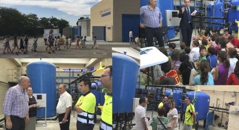 Remolinos y Gestagua 15 años confianza implantación nueva ETAP