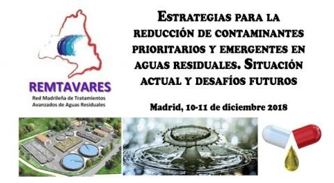Estrategias reducción contaminantes prioritarios y emergentes aguas residuales