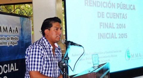 otorgan reconocimiento Autoridad Agua Bolivia gestión 2014