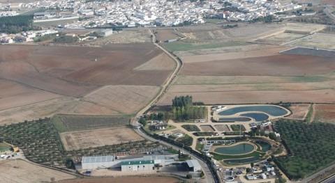 Sede del Centro de las Nuevas Tecnologías del Agua (CENTA) en Carrión de los Céspedes (Sevilla)