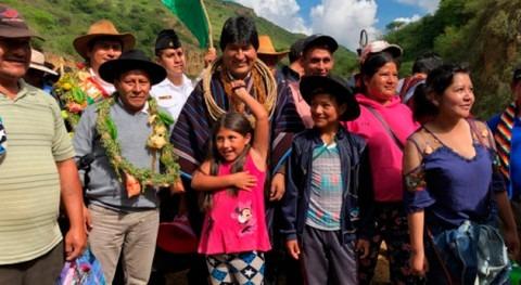 represa y sistema riego incrementan producción alimentos Villar, Bolivia