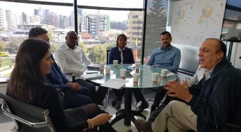 Representantes Instituto Aguas y Alcantarillado República Dominicana visitan EPMAPS