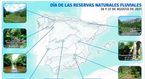 MITECO organiza unas jornadas didácticas Reservas Naturales Fluviales