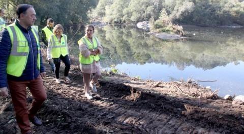 Galicia invierte 60.000 euros acondicionar sendero rural Reiro junto al río Deza