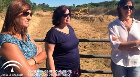 Gobierno andaluz inicia restauración cauces Aljaraque