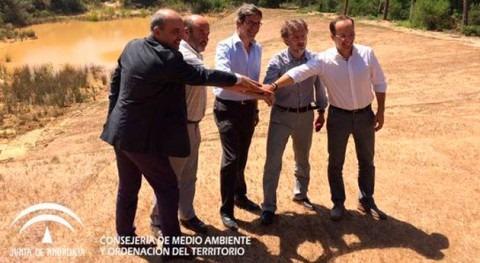 Gobierno andaluz inaugura obras restauración 3 humedales Doñana