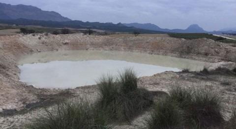 Murcia restaura dos charcas ganaderas Llanos Cagitán Calasparra