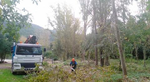 ACA minimiza riesgo desbordamientos tramo río Gaià