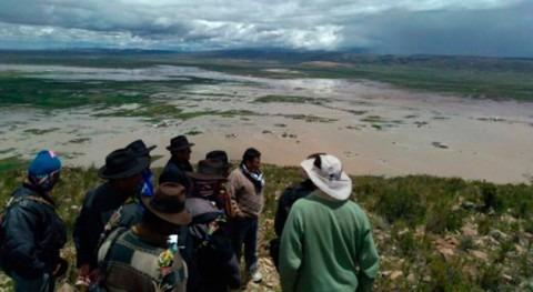 Bolivia trabaja restauración ríos Pucarani
