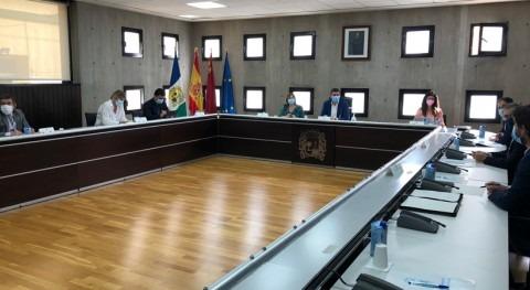 Murcia continúa retirada biomasa Mar Menor auxilio ayuntamientos ribereños