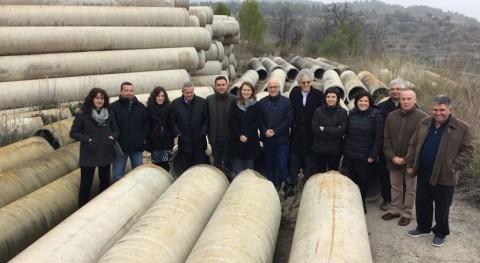 retirada tuberías dañadas obras regadío d' Pinell Brai costará 195.000 euros