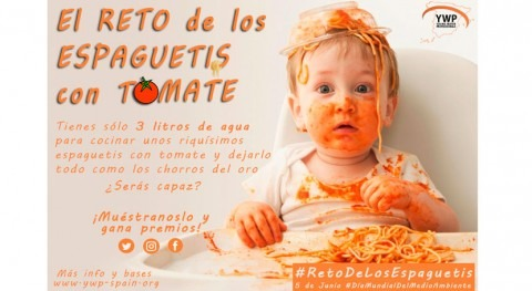 reto espaguetis tomate