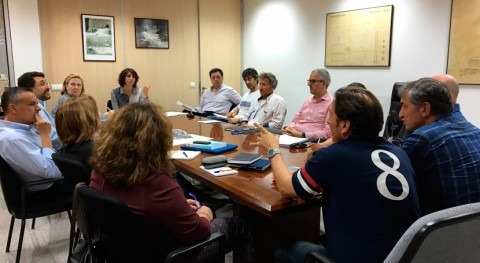 1ª reunión grupo trabajo Prat Sant Jordi minimizar riesgo inundaciones