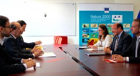 plan actuaciones Mar Menor, seguido conjuntamente Murcia y Comisión Europea