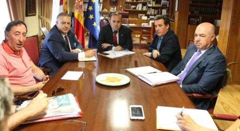 CHT y Gobierno Castilla- Mancha se reúnen afectados amianto