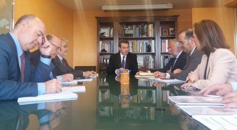 gestión agua centra reunión CHT y alcalde Talavera Reina