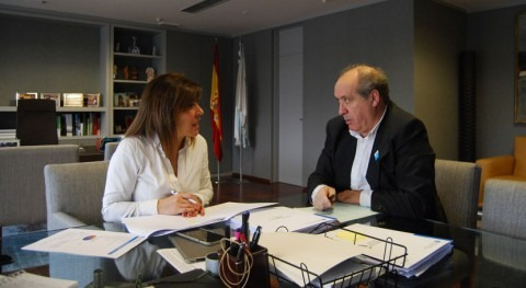 Gobierno gallego financiará mejora depuradora Meirama Cerceda