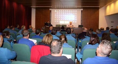 Servicio Policía Aguas y Cauces Públicos promueve ahorro agua reunión anual