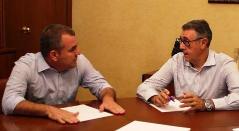 Mario Urrea se reúne alcalde Alguazas tratar asuntos competencia organismo