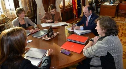 ampliación Canal Navarra centra reunión Gobierno Foral MAPAMA