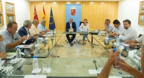 Gobierno Murcia se suma reivindicación regantes trasvase Tajo-Segura