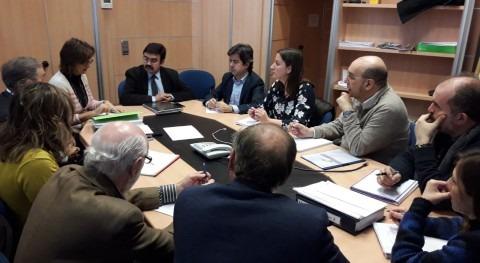 presidente CHE y alcalde Huesca abordan proyecto abastecimiento ciudad