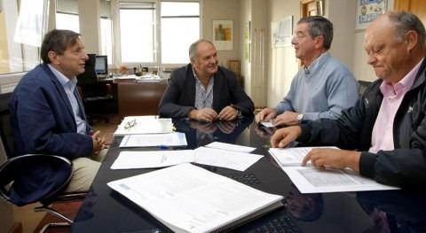 Medio Ambiente se reúne con el alcalde de Marina de Cudeyo