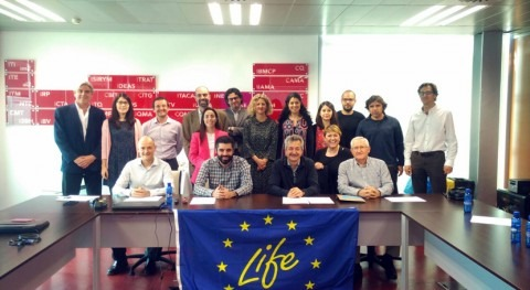 grupo trabajo proyecto LIFE CERSUDS se reúne conocer últimos avances realizados