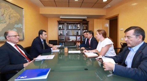 Cebolla y Confederación Tajo buscan soluciones problemas inundación municipio