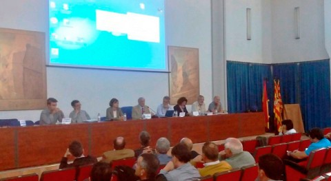 CHE reúne usuarios Barasona (Huesca) sesión informativa mejillón cebra
