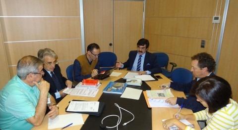 Reunión presidente CHE y asociaciones ecologistas Pacto Nacional Agua