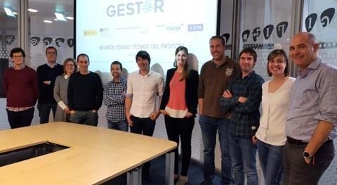 equipo proyecto GESTOR revisa Castelló avances plataforma