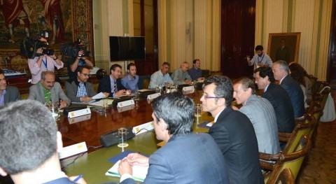 Jaime Haddad se reúne Organizaciones Profesionales Agrarias y Cooperativas analizar situación sequía