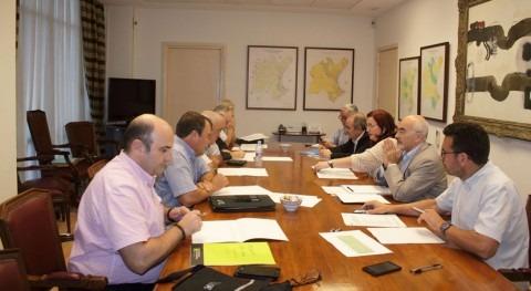 CHJ se reúne asociaciones agrarias y cooperativas marco Pacto Nacional Agua