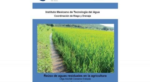 "Libro ""Reúso aguas residuales agricultura"""