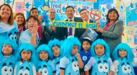 reutilización y ahorro agua llegan 300 colegios peruanos