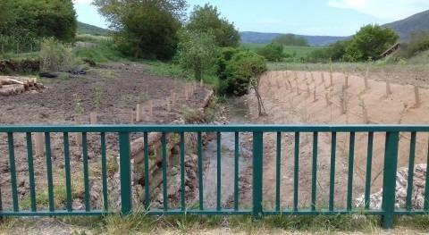 URA restaura 100 metros río Istora paso Alda, Valle Arana