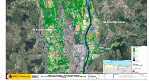 CHC somete consulta pública revisión y actualización mapas riesgo inundación