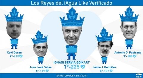Ignasi Serviá: primer rey iAgua Like verificado