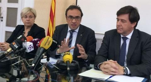 "Josep Rull: ""Cataluña defiende proyecto Rialb resolver déficit grave agua"""