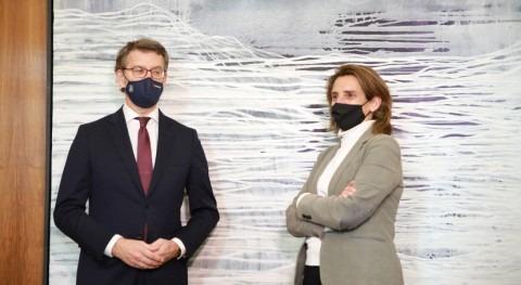 Ribera pide Feijóo implicación avanzar energías renovables, saneamiento y depuración