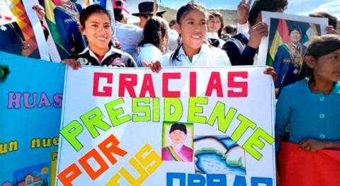11 años trabajo, Bolivia garantizó agua riego 29.347 hectáreas Chuquisaca