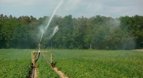 2018, volumen agua riego usado sector agrario aumenta 3,7% respecto 2016
