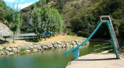 piscina fluvial río Araxes, nueva zona aguas baño natural