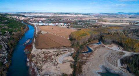 Comienza 2ª fase reconexión meandros río Arga
