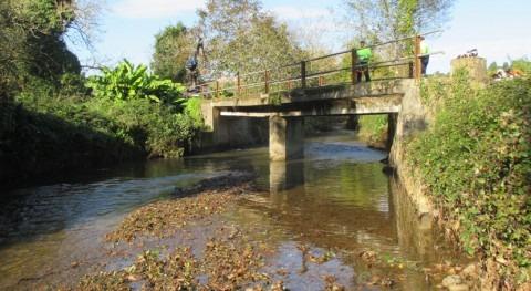 Concluyen trabajos conservación y mantenimiento río Libardón