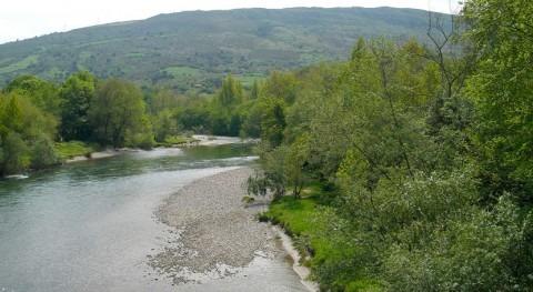 Gobierno Cantabria repliega barreras contención vertidos río Deva