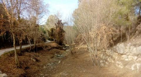 Adecuados más 1.000 metros cauce río Glorieta Alcover
